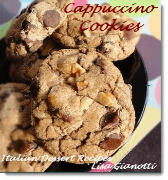 cappuccino cookies