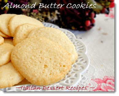 almond butter cookies
