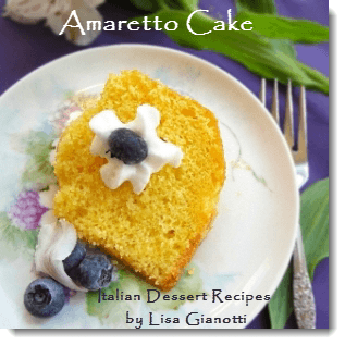 amaretto cake recipe