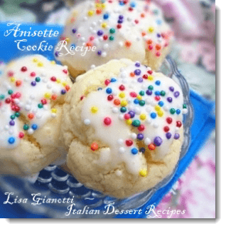 Anisette Cookies | A Traditional Italian Cookie Recipe