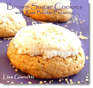 Brown Sugar Cookie Recipe With Rum Butter Frosting