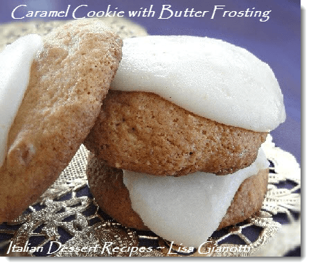 caramel cookie recipe