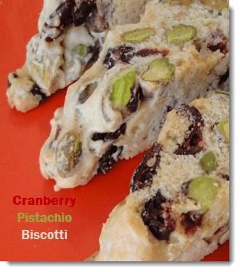 Cranberry Pistachio Biscotti | Plus 4 other Italian Biscotti Recipes