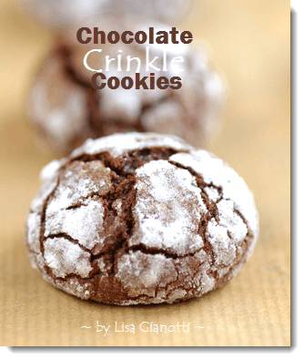 ... Crinkle Cookies | Crinkle with white or brown or colored sugar