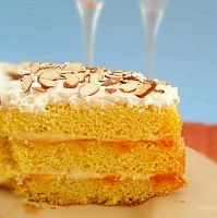 eggnog cake