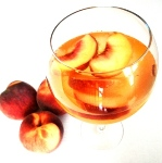 peach sangria