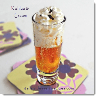 kahlua and cream recipe