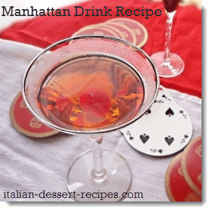 manhattan drink recipe