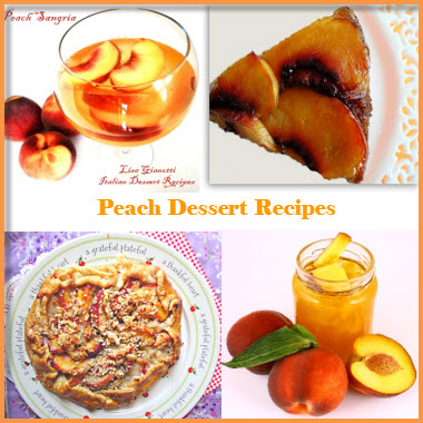 peach dessert recipes