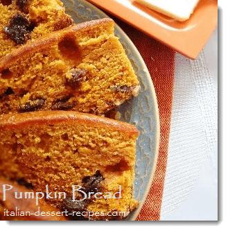 recipe for pumpkin bread