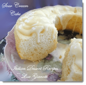sour cream cake recipe