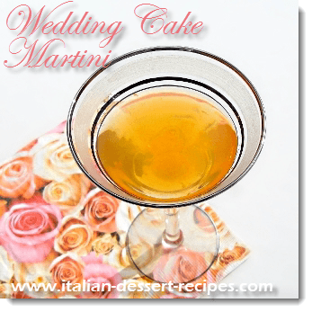 wedding cake martini