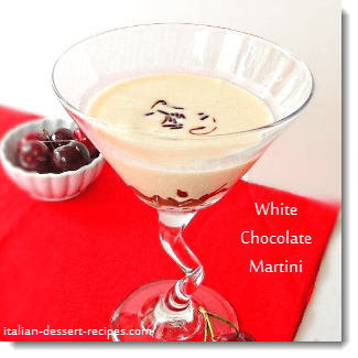 white chocolate martini recipe
