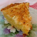 Coconut Custard Pie