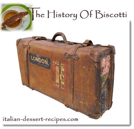 history of biscotti