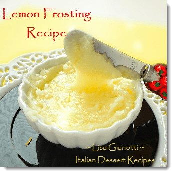 lemon frosting recipe