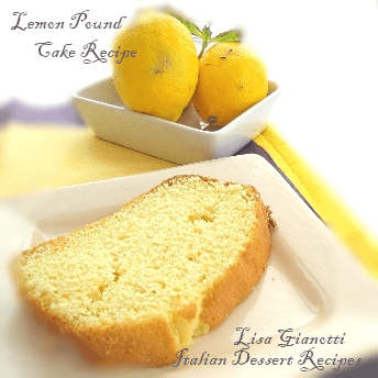 Fresh lemon pound cake recipes