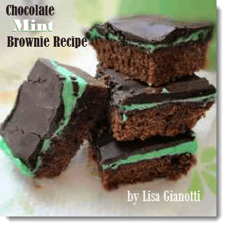mint brownie recipe