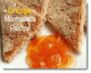 orange maramalade recipe