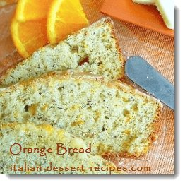 orange bread recipe