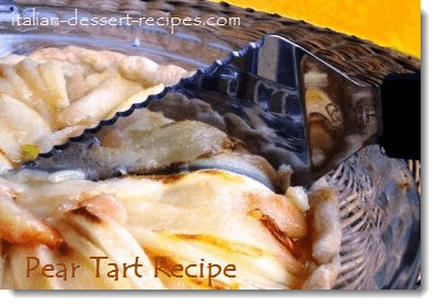 pear tart recipe