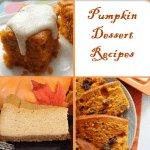 Pumpkin Dessest Recipes