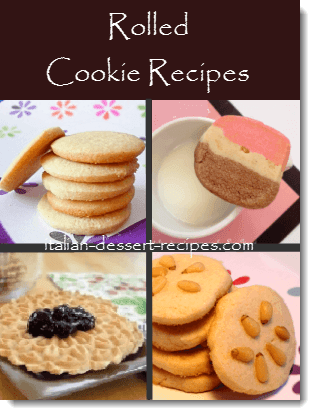 rolled cookie recipes